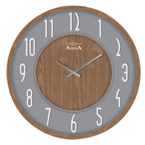 Adina wooden wall clock CL17-A6730D