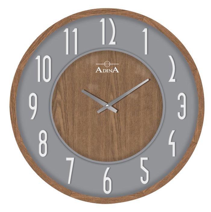 Adina wooden wall clock CL17-A6730D