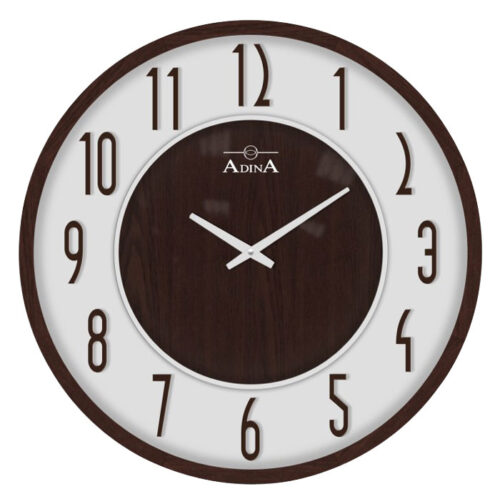 Adina wooden wall clock CL17-A6730E