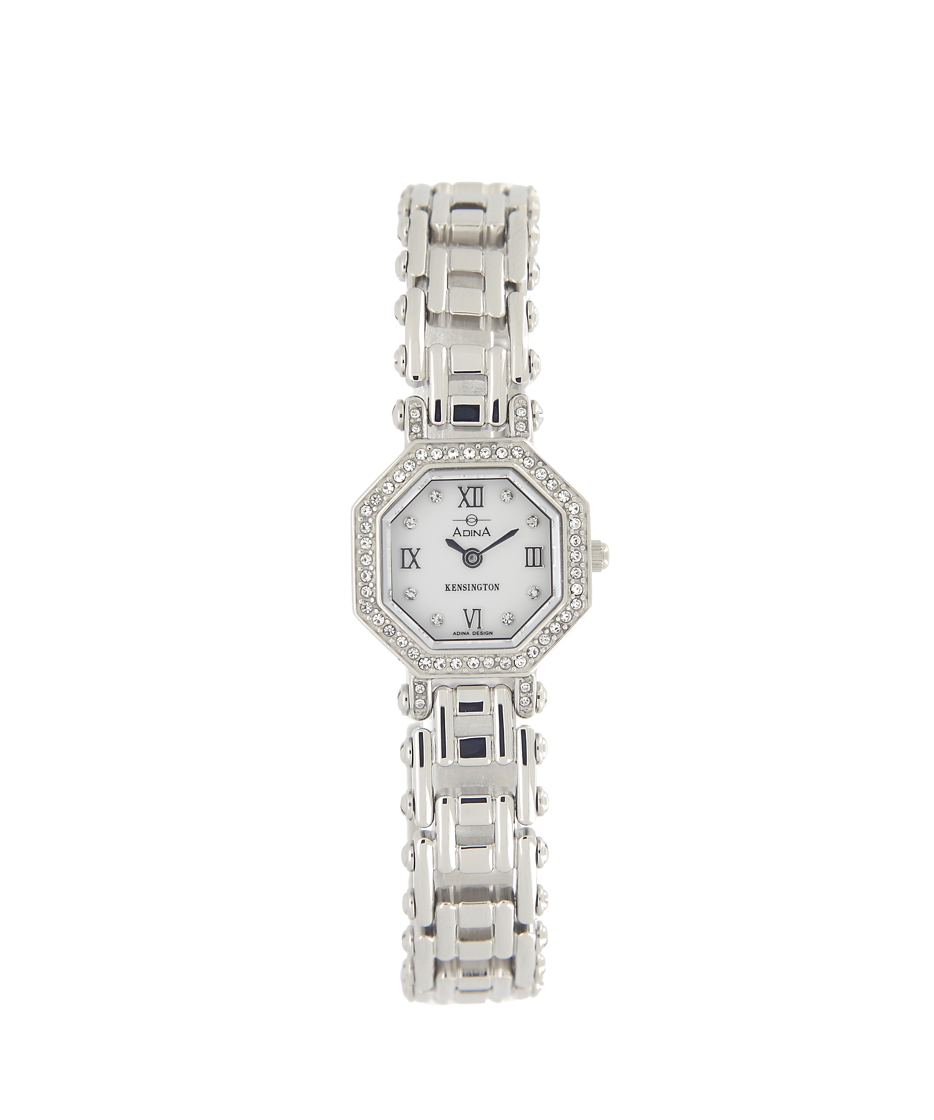 Adina Kensington Swaroski Set Dress Watch 200244 S1XB