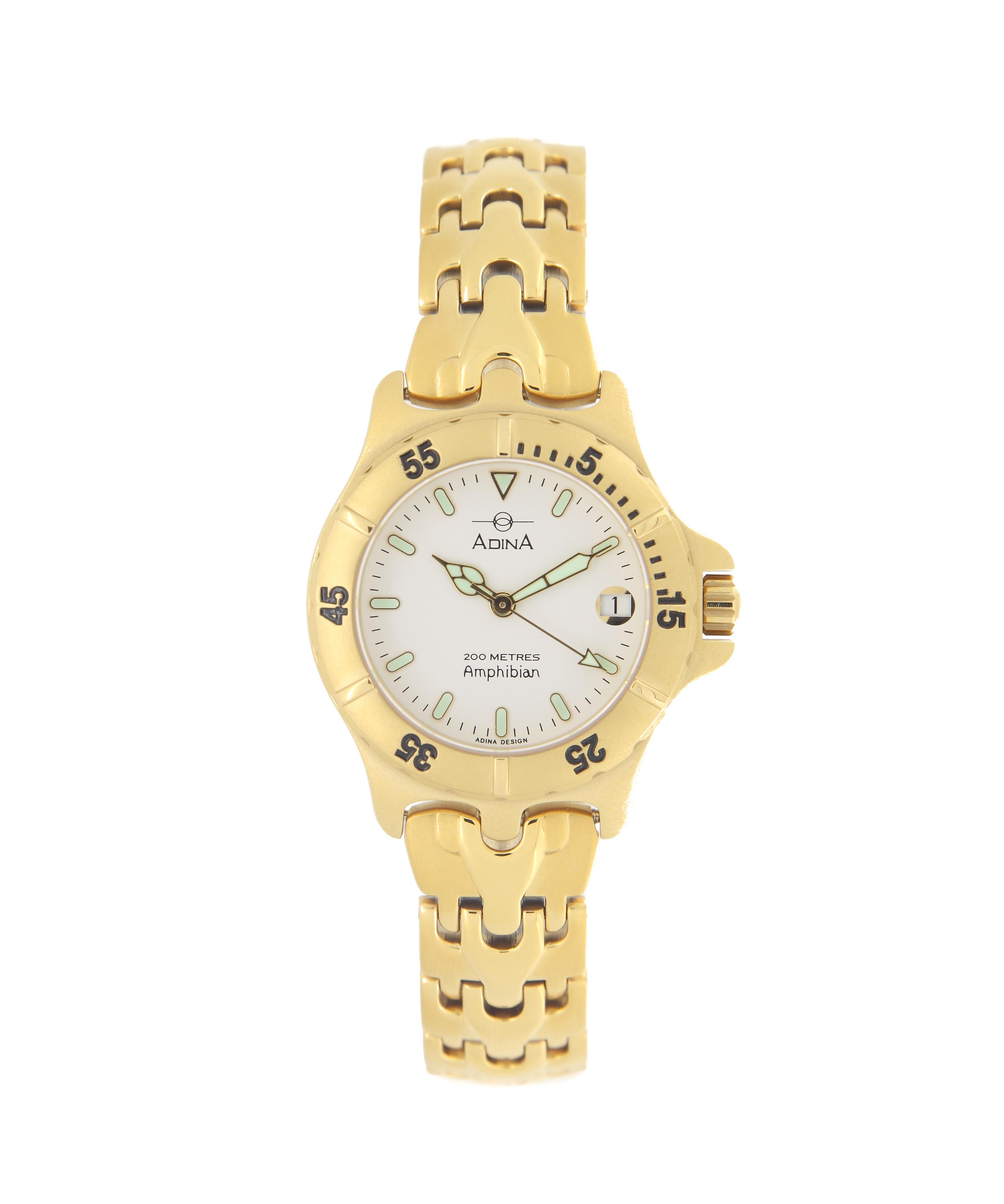 Adina Amphibian Dive Watch CM114 G1XB