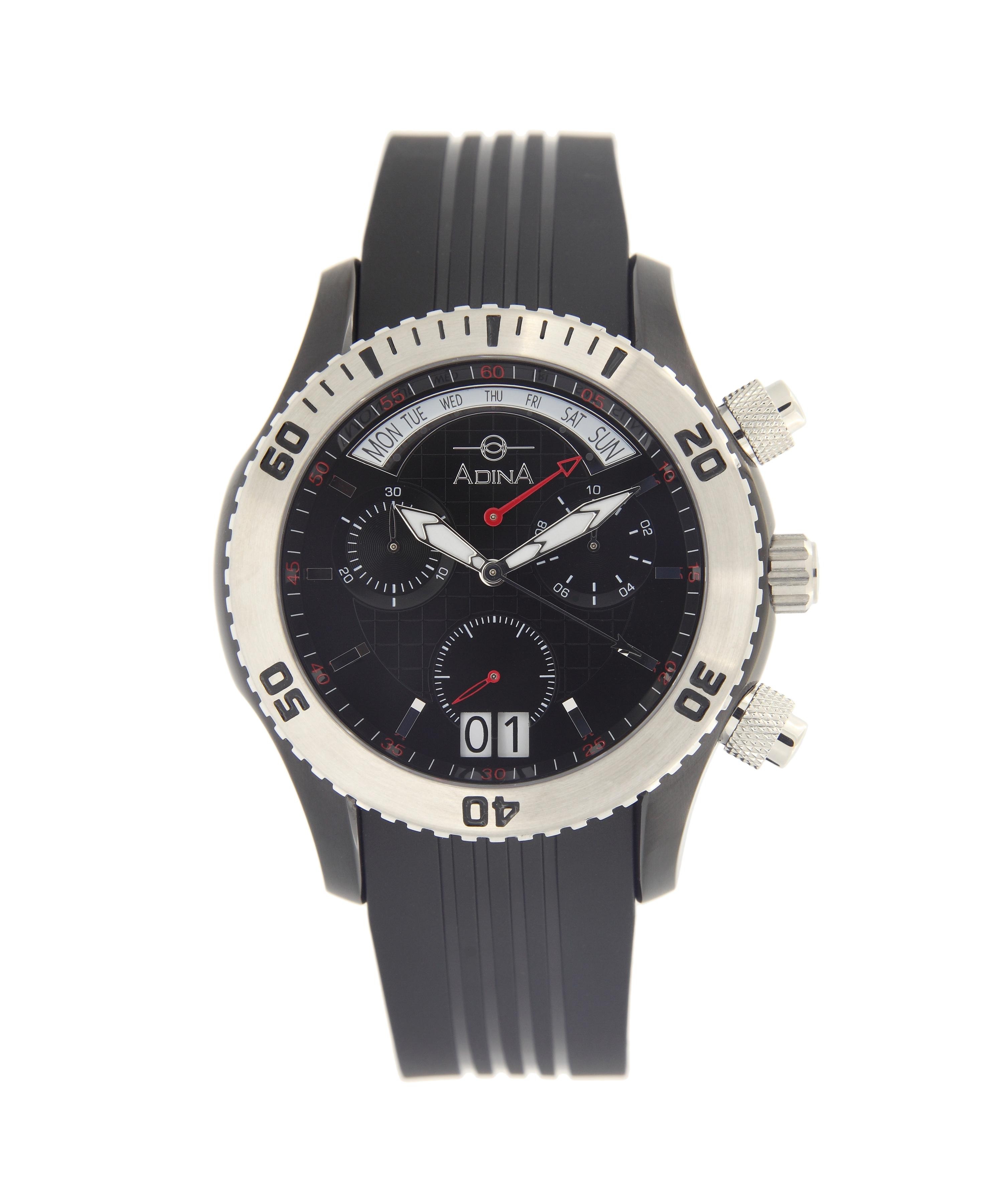 Adina Amphibian dive watch NK156 B2XS Retrograde