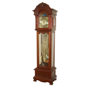 clock grandfather chime timber heirloom