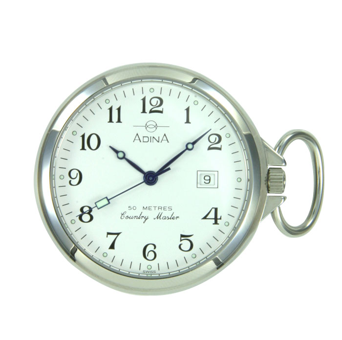 Adina Countrymaster pocketwatch NK54 S1FP