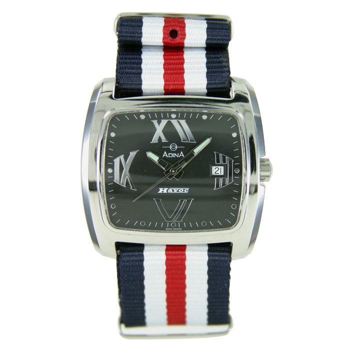 Adina nato strap Havoc dress watch NK109 S2XS