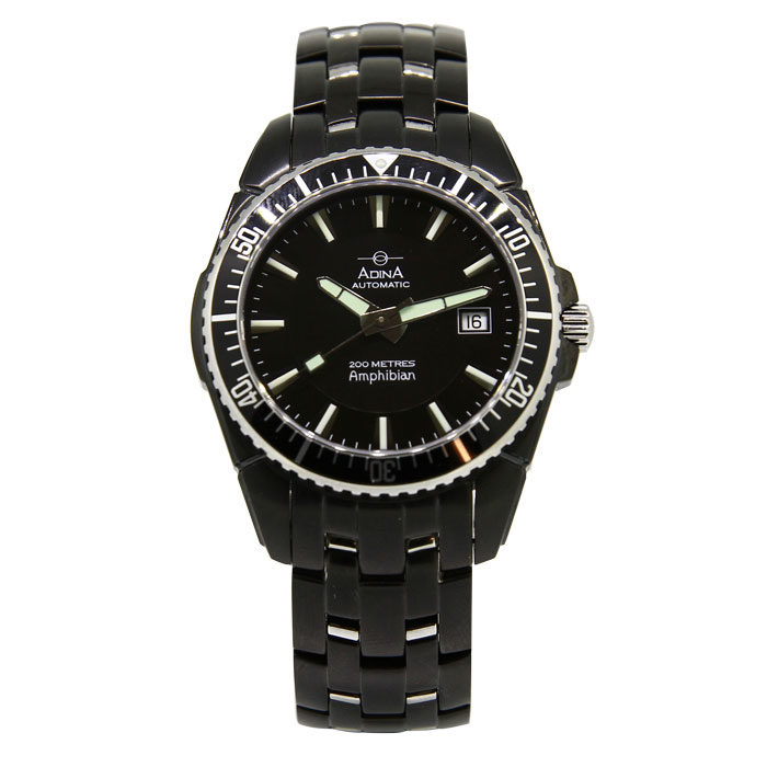 "Adina Amphibian automatic dive watch NK142 B2XB ""Thin Air"""