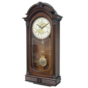 Adina Timber Chiming Wall Clock CL05H-3596B