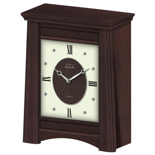 Adina Timber Mantle Clock CL07J-9519