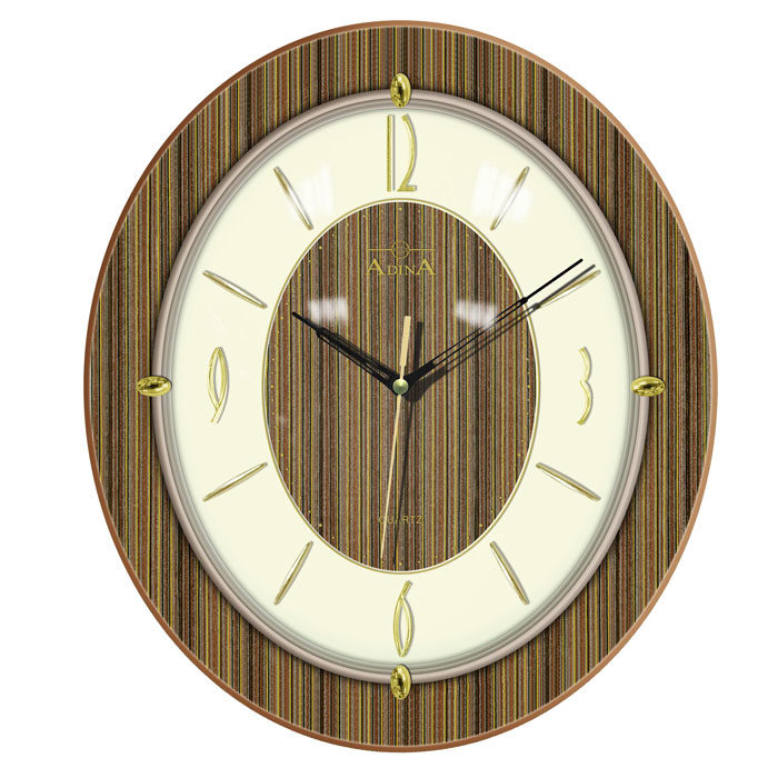 Adina Wooden Wall Clock CL08A-10569