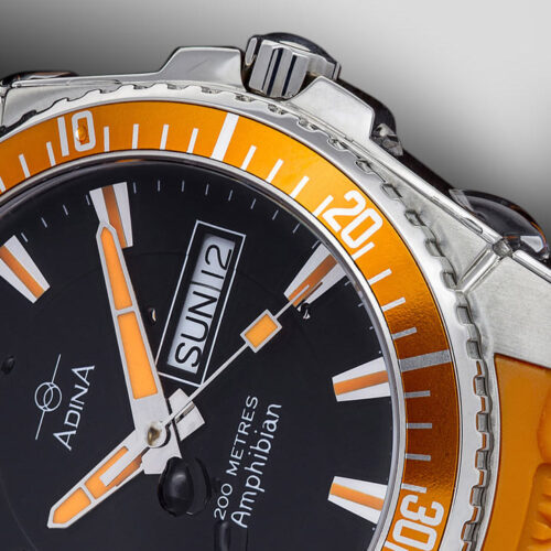 Adina Amphibian dive sports watch NK167 S8AXS