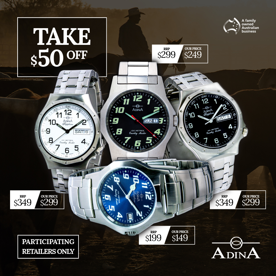 Adina Watches - Father's Day 2021