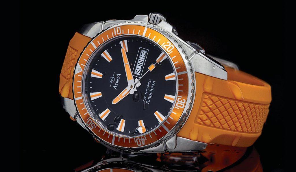 Adina Amphibian Dive Watch NK167 S28XS