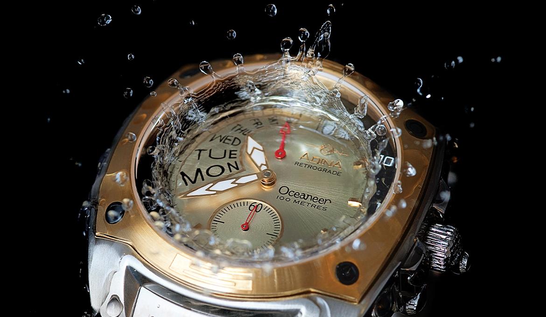 Adina Water Resistant Watch