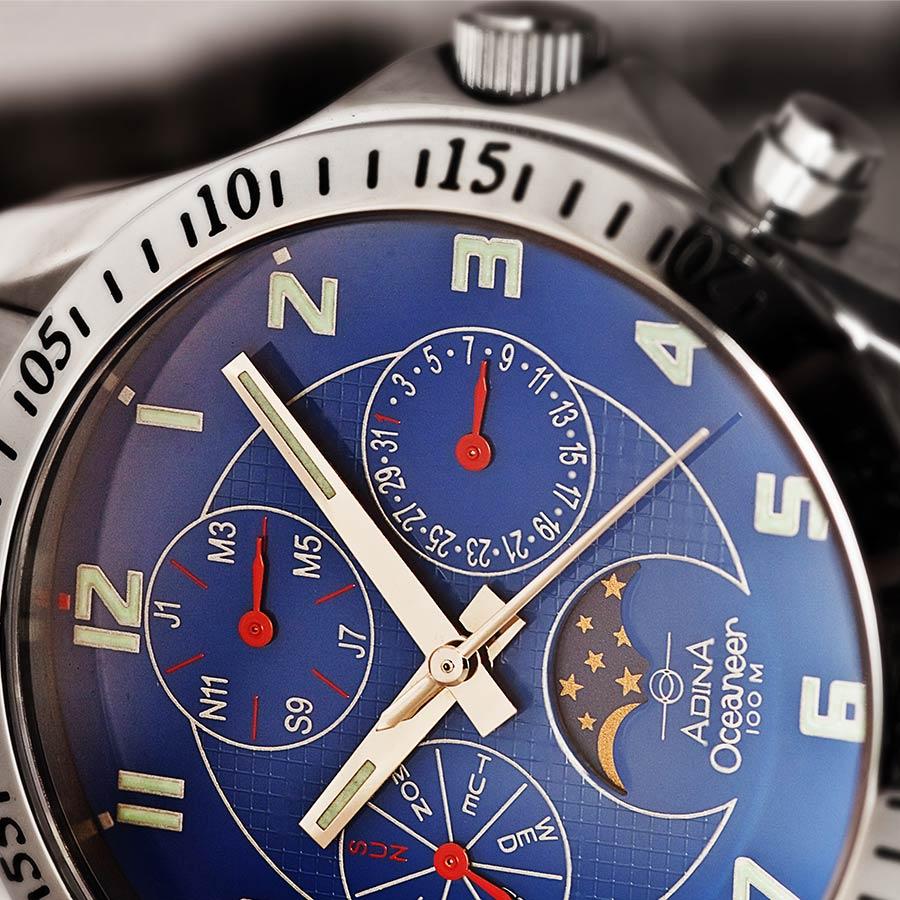 Adina Oceaneer Chronograph Sports Watch NK139 S6FB