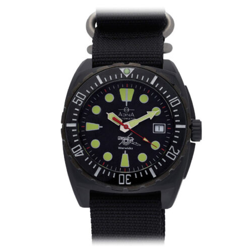 "Adina Warwick Firearms ""Mil Spec Edition"" watch CT115 (Blackout)"