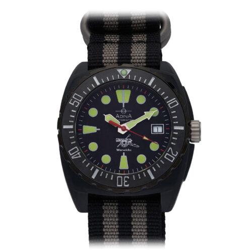 "Adina Warwick Firearms ""Mil Spec Edition"" watch CT115 (Midnight)"