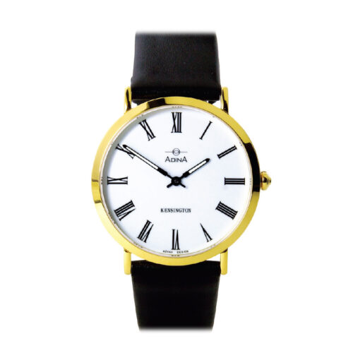 Adina Kensington dress watch CT104 G1RS (Black Strap)