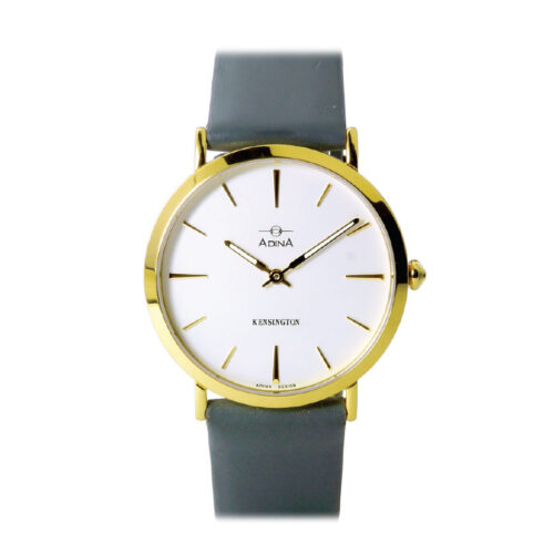 Adina Kensington dress watch CT104 G1XS (Grey Strap)