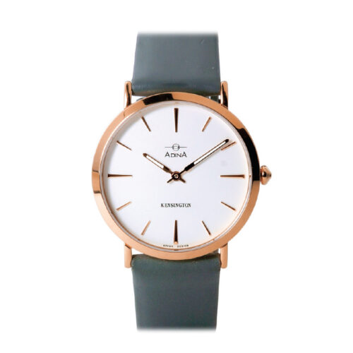 Adina Kensington dress watch CT104 R1XS (Grey Strap)