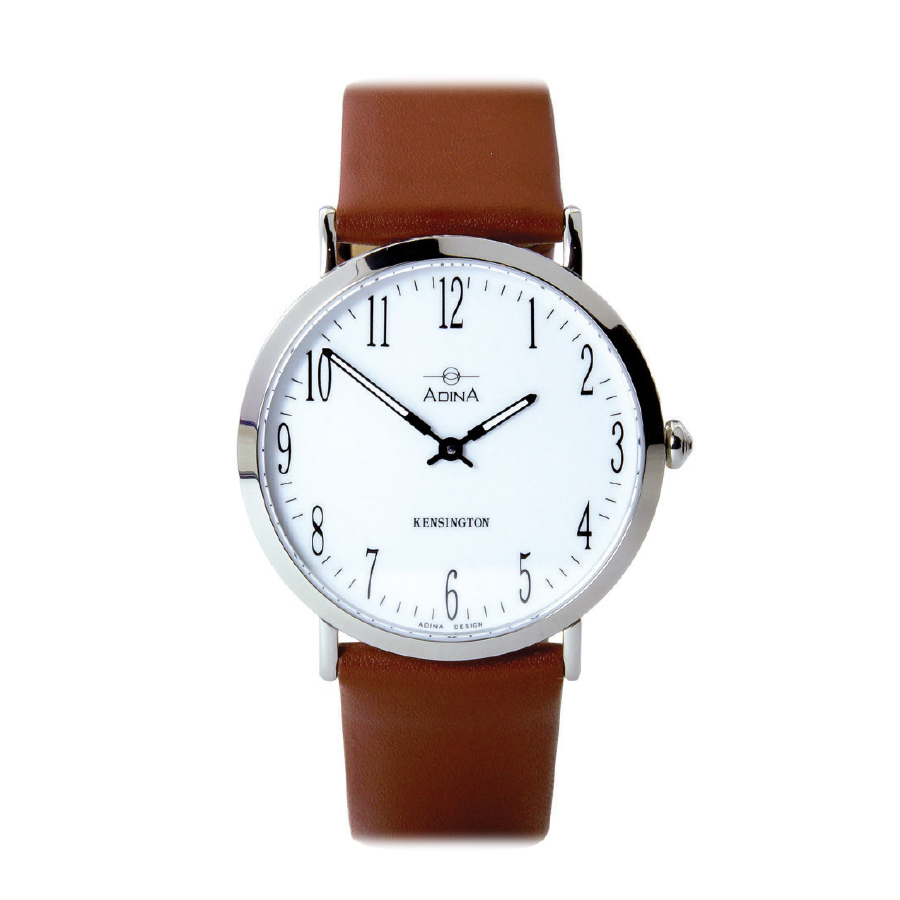 Adina Kensington dress watch CT104 S1FS (Brown Strap)