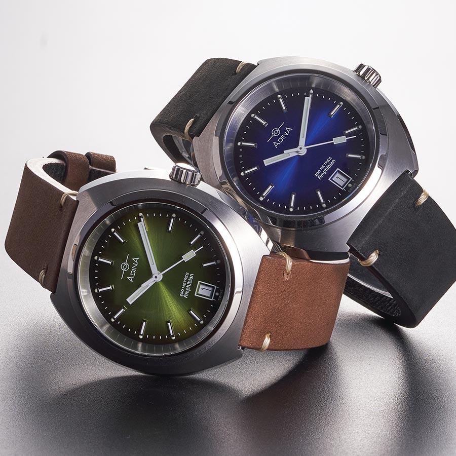 Adina vintage Amphibian sports watch CT108 S6XS