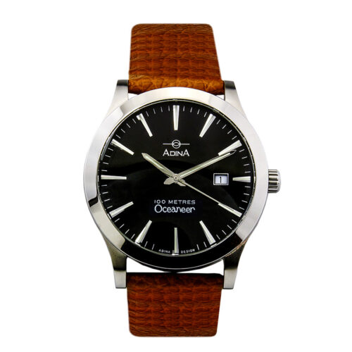 Adina Oceaneer sports watch NK129 S2XS (Brown Strap)