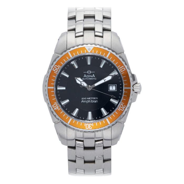 Adina Amphibian Automatic Dive Watch NK142 S8XB