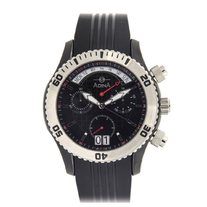 Adina Amphibian Chronograph dive sports watch NK156 B2XS