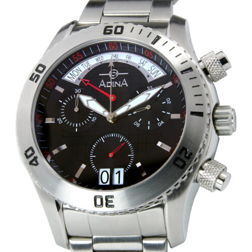 Adina Amphibian dive watch NK156 S2XB Retrograde