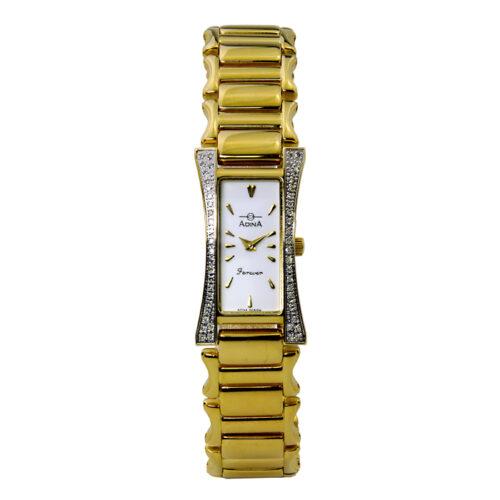 Adina Forever diamond set dress watch NK164 G1XB