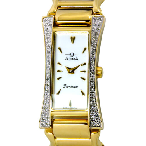 Adina Forever diamond set dress watch NK164 G0XB