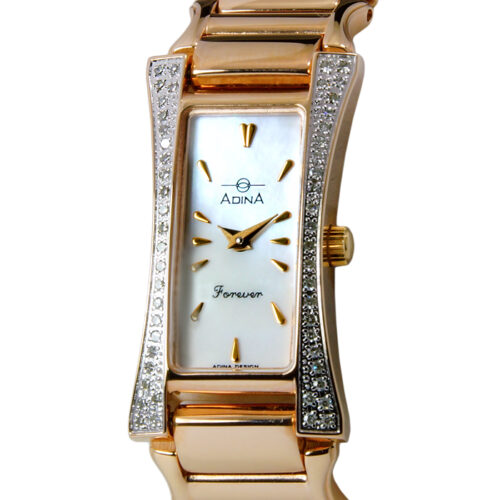 Adina Forever diamond set dress watch NK164 R0XB