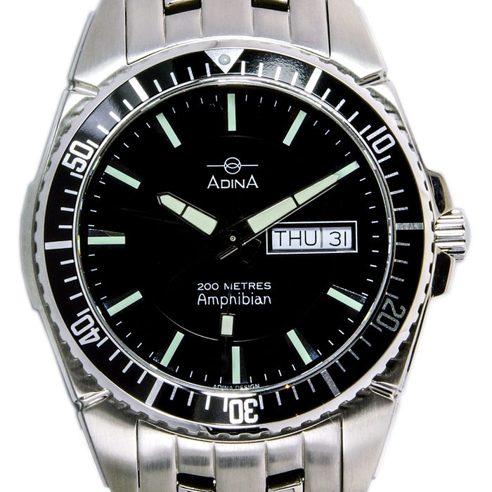 Adina Amphibian dive watch NK167 S2AXB