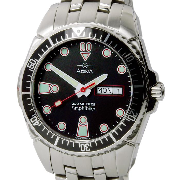 Adina Amphibian dive watch NK167 S2DXB