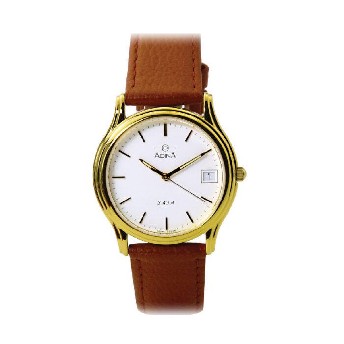 Adina Everyday Dress Watch NK39 G1XS (Tan)