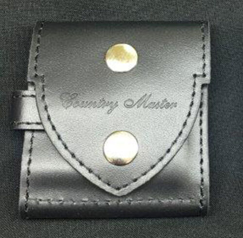 Black Adina Countrymaster Pocket Watch Pouch Suit NK54
