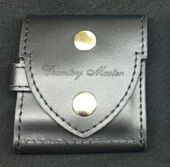 Black Adina Countrymaster Pocket Watch Pouch Suit NK54