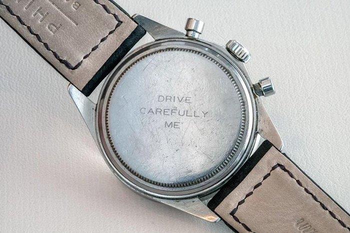 Paul Newman engraved watch
