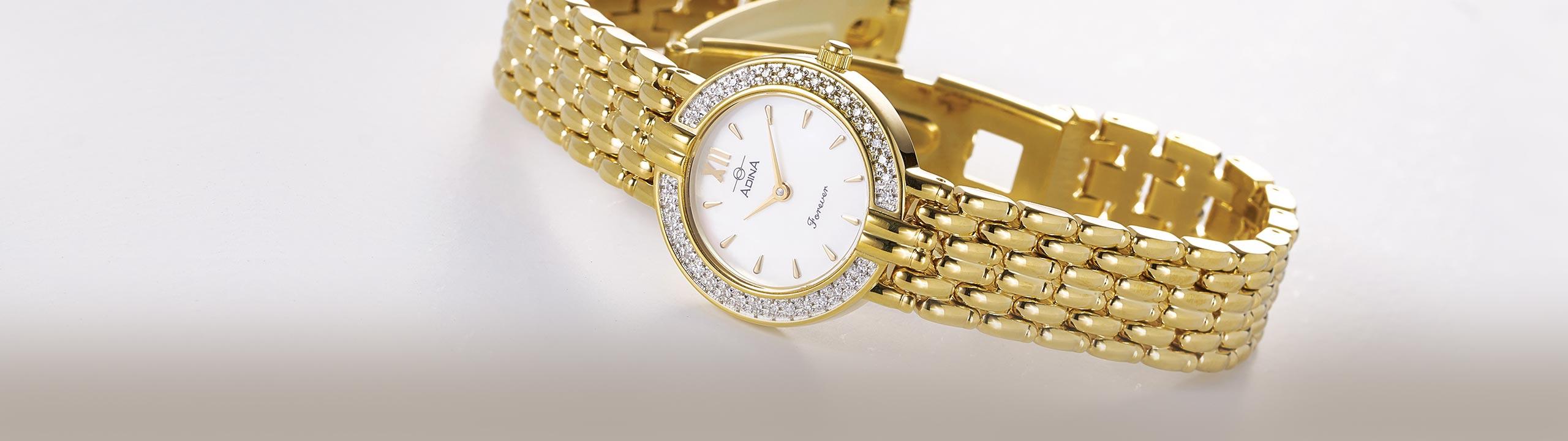 Adina Diamond Set Forever Dress Watches